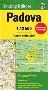 Libro Padova 1:12.500. Pianta della città