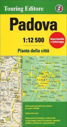 Listadelpopolo.it Padova 1:12.500. Pianta della città Image