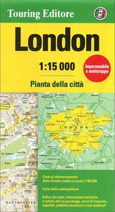 Libro Londra 1:15.000. Pianta della città