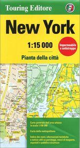 Foto Cover di New York 1:15.000. Pianta della città, Libro di  edito da Touring