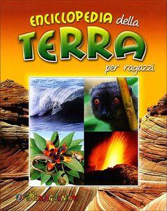 Libro Enciclopedia della terra per ragazzi Michael Allaby