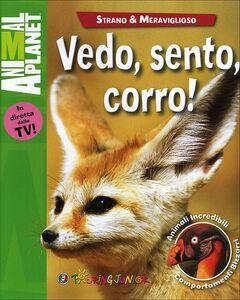 Foto Cover di Vedo, sento, corro!, Libro di Amanda Burdon, edito da Touring Junior 0
