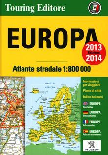 Radiospeed.it Europa. Atlante stradale 1:800.000 Image