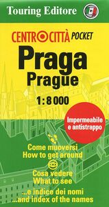 Libro Praga-Prague 1:8.000
