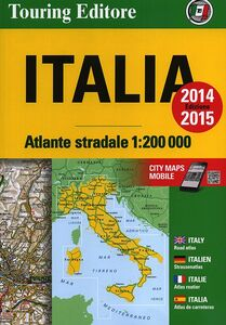 Libro Atlante stradale d'Italia Nord, Centro, Sud 1:200.000