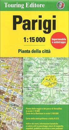 Parigi 1:15.000 - copertina