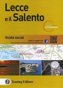 Foto Cover di Lecce e il Salento, Libro di  edito da Touring