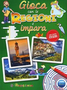 Winniearcher.com Gioca con le regioni e impara. Con adesivi Image