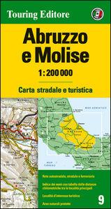Libro Abruzzo e Molise 1:200.000. Carta stradale e turistica. Ediz. multilingue