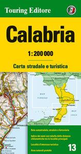 Libro Calabria 1:200.000. Carta stradale e turistica. Ediz. multilingue