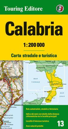 Winniearcher.com Calabria 1:200.000. Carta stradale e turistica. Ediz. multilingue Image