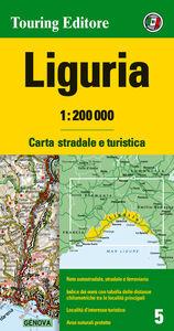 Foto Cover di Liguria 1:200.000. Carta stradale e turistica. Ediz. multilingue, Libro di  edito da Touring
