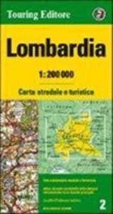 Libro Lombardia 1:200.000. Ediz. multilingue