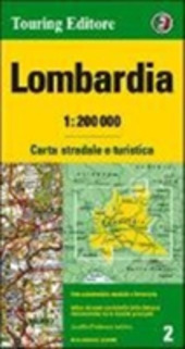 Lombardia 1:200.000. Ediz. multilingue