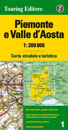 Piemonte e Valle dAosta 1:200.000. Carta stradale e turistica. Ediz. multilingue.pdf