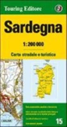 Winniearcher.com Sardegna 1:200.000. Carta stradale e turistica. Ediz. multilingue Image