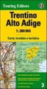 Libro Trentino Alto Adige 1:200.000. Carta stradale e turistica. Ediz. multilingue