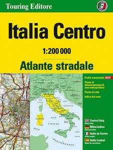 Libro Atlante stradale Italia Centro 1:200.000