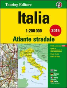 Promoartpalermo.it Atlante stradale Italia 1:200.000. Ediz. italiana, inglese, francese, tedesca e spagnola Image