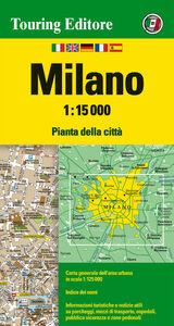 Foto Cover di Milano 1:15.000. Ediz. multilingue, Libro di  edito da Touring