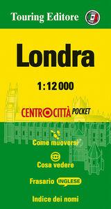 Foto Cover di Londra 1:12.000. Ediz. multilingue, Libro di  edito da Touring