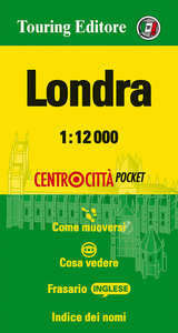 Libro Londra 1:12.000. Ediz. bilingue