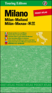 Foto Cover di Milano. Pocket atlas. Ediz. multilingue, Libro di  edito da Touring