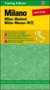 Libro Milano. Pocket atlas. Ediz. multilingue