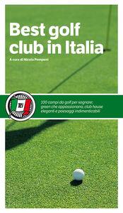 Libro Best golf club in Italia