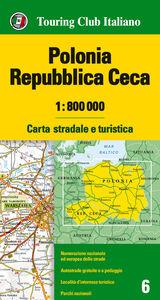 Libro Polonia, Repubblica Ceca 1:800.000. Carta stradale e turistica. Ediz. multilingue