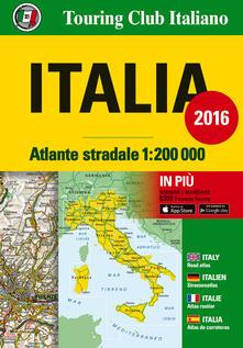 Listadelpopolo.it Atlante stradale Italia 1:200.000. Ediz. italiana, inglese, francese, tedesca e spagnola Image