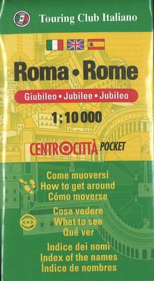 Roma 1:10.000. Ediz. italiana, inglese e spagnola - copertina