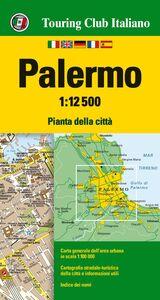 Foto Cover di Palermo 1:12.500. Pianta della città, Libro di  edito da Touring