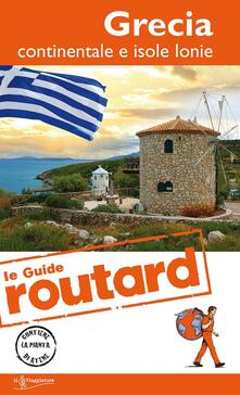 Ristorantezintonio.it Grecia continentale e isole ionie. Con carta geografica ripiegata Image