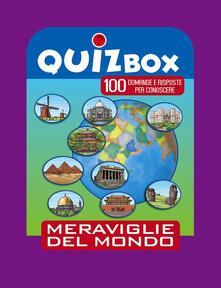 Antondemarirreguera.es Meraviglie del mondo. 100 domande e risposte per conoscere Image