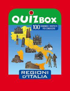 Foto Cover di Regioni d'Italia. 100 domande e risposte per conoscere, Libro di  edito da Touring Junior