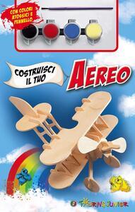 Costruisci il tuo aereo. Con gadget