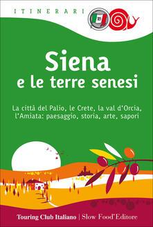 Steamcon.it Siena e le terre senesi. La città del palio, le crete, la val d'Orcia, l'Amiata: paesaggio, storia, arte, sapori Image