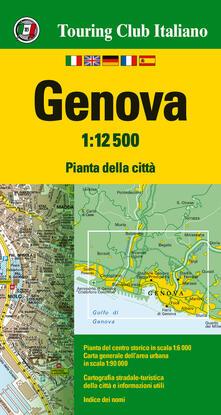 Ipabsantonioabatetrino.it Genova 1:12.500. Ediz. multilingue Image
