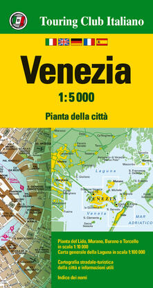 Grandtoureventi.it Venezia 1:5.000. Ediz. multilingue Image