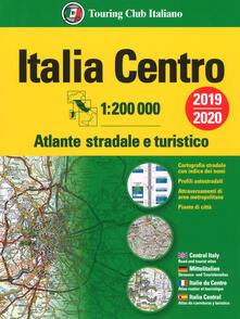 Criticalwinenotav.it Atlante stradale Italia Centro 1:200.000. Ediz. multilingue Image
