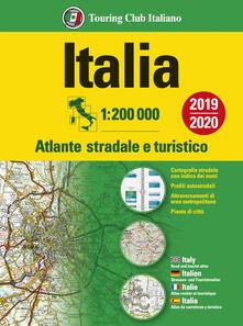 Steamcon.it Italia. Atlante stradale e turistico. 1:200.000 Image