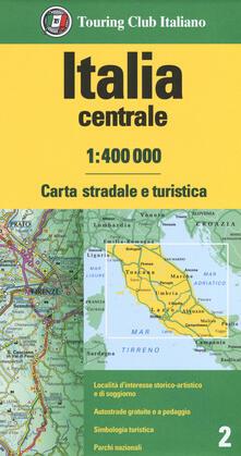 Italia centrale 1:400.000. Carta stradale e turistica - copertina