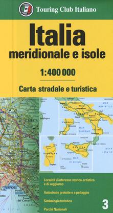 Winniearcher.com Italia meridionale e isole 1:400.000. Carta stradale e turistica Image