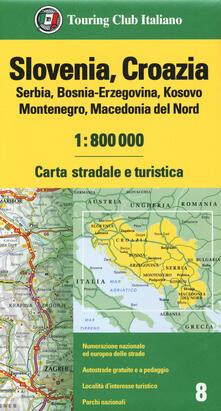 Cartina Stradale Slovenia Pdf.Pdf Completo Slovenia Croazia Serbia Bosnia Erzegovina Kosovo Montenegro Macedonia Del Nord 1 800 000 Carta Stradale E Turistica Pdf Game