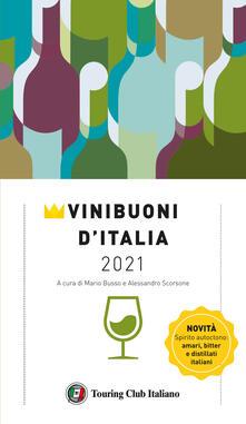 Vini buoni d'Italia 2021 - copertina
