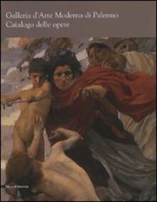 Galleria d'arte moderna di Palermo. Catalogo delle opere - copertina