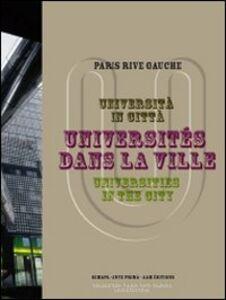 Libro Università in città-Universités dans la ville-Universities in the city