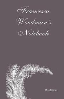 Francesca Woodman's notebook - copertina