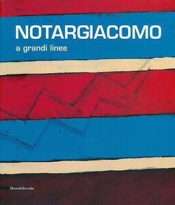 Libro Notargiacomo. A grandi linee. Catalogo della mostra (Ascoli Piceno, 20 aprile - 8 novembre 2013)